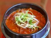 Korean Cooking Kimchi Jjigae (kimchi Stew)