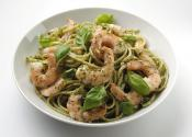 King Prawn & Pesto Linguine