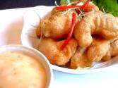 King Prawns In Tempura Batter