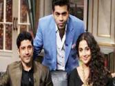 Koffee With Karan - Farhan Akhtar And Vidya Balan On 8th December 2013