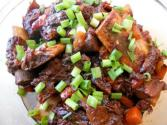 Korean Braised Short Ribs (galbi Jim)