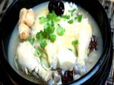 Korean Food: Traditional Korean Chicken Soup (삼계탕)