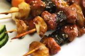 Korean Chicken Kebabs