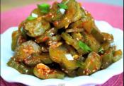 Korean Pickled Cucumbers