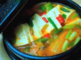 Korean Food: Tuna Kimchi Soup ( )