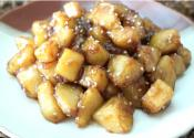 Korean-style Soy Sesame Potatoes