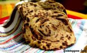 Lachha Paratha Or Layered Indian Flatbread