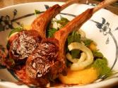 Luscious Lamb Lollipops With Blackberry Reduction Sauce