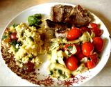 Lamb Chops & Rice Nicoise