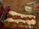 Lasagna Rolls With Turnip Greens &amp; Italian Sausage &amp; Better Homes And Gardens Cookware
