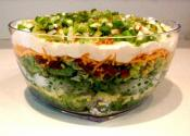 "Layered ""masked"" Salad"