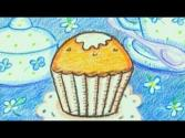 Learn How To Draw A Cupcake