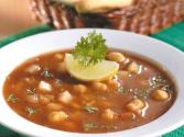 Chick Pea Soup By Tarla Dalal