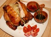 Lechon Manok With Oyster Sauce