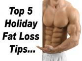 Lee's Top 5 Holiday Fat-loss Tips