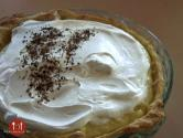 Nutty Chocolate Sour Cream Pie