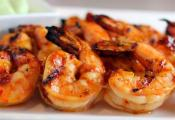 Lemon Broiled Shrimps