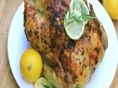 Lemon Garlic &amp; Rosemary Roasted Chicken