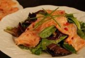 Lemon Marinated Salmon Salad