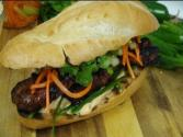 Lemongrass Marinated Pork Sandwich - Banh Mi