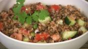 Bulgur Salad With Lentils
