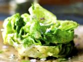 Garden Lettuce With Cream And Sugar