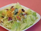 Lettuce And Apple Salad With Lemon Dressing