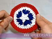 Left Hand Motif Of The Month June 2013: Patriotic Circle Motif