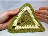Motif Of The Month March 2013: Left Hand Triangle Granny Square Part 1