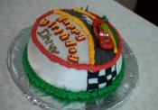 Delicious Mcqueeen Car Icing  Cake