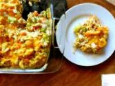 Lima-sour Cream Casserole   