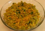 Pure And Simple Lima Bean And Corn Succotash