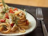 Linguine Salad With Brie Cheese And Tomatoes