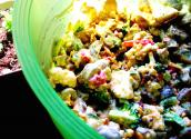 Creamy Baked Potato Salad
