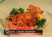Seafood Stuffed Lobster