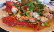 Lobster With Chinese Vegetables