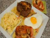 Loco Moco Hawaiian Hamburger Steak
