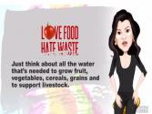 Love Food Hate Waste Water