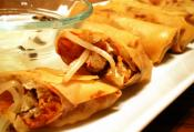 Homemade Lumpiang Togue