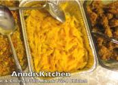 Baked Macaroni With Vegetable Fried Rice And Chicken