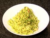 Hawaiian Grown Kitchen - Shrimp With Mac Nut Pesto Pasta