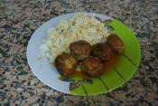 Madras Curried Meatballs