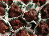 Chocolate Nut Raisin Clusters