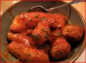 Italian Meatballs And Gravy