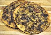 Manakish Be Zaatar (a Spicy Lebanese Breakfast Bread)