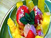 Mango, Strawberry And Pineapple Delight