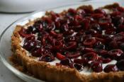 Maraschino Almond Parfait Pie