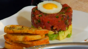  Island Ahi Tartare Tiki Stack