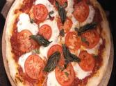 Margherita Pizza (on The Grill)