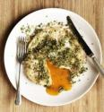 Mark Hix&#039;s Easy Over Goose Egg With Caper And Lemon Crust